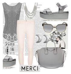 """""""Gray day """" by keepitrealforme on Polyvore featuring ChloBo, Dorothy Perkins, Givenchy, Stuart Weitzman, Chloé, Uno de 50, Boohoo and Rosanna"""