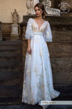AYUNA wedding dress by STREKKOZA