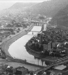 Vintage Johnstown: Looking Towards Town