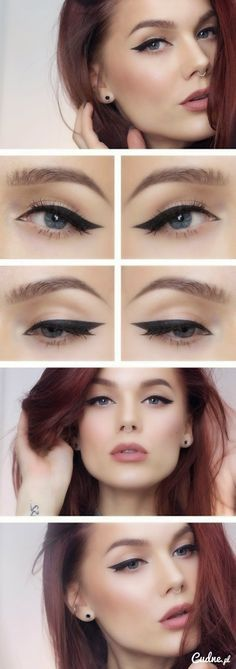 Mocna kreska eyelinerem