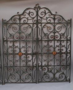 Charming S Wrought Iron Fence With Foliage Pattern Door Gate Fence Gate Window Grill