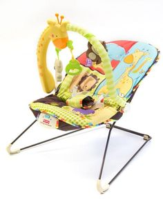 Luv u zoo fisher price bouncer def want this matches theme of nursery!