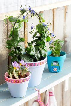 Tee itse istutusnurkka. Diy a planting place. | Unelmien Talo&Koti Kuvaaja: Satu Nyström Toimittaja: Anette Nässling