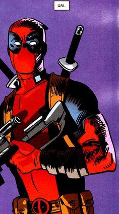 """ Deadpool Annual Art by Evan Shaner & Veronica Gandini "" Deadpool Funny, Lady Deadpool, Marvel Art, Marvel Dc Comics, Deadpool Pictures, Spideypool, Avengers Memes, Cute Cartoon Wallpapers, Marvel Characters"
