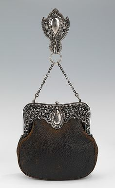Chatelaine purse. American.ca.1895