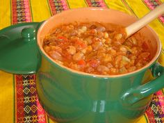 Cucina peruviana in Italia: CHILI VEGETARIANO