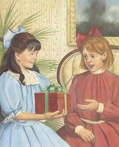 "peekintothepast: ""AG friendships: Samantha and Nellie """