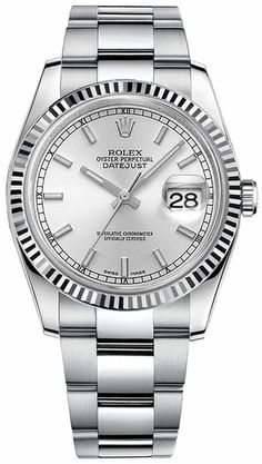 Rolex Datejust 36 116234 Rolex 116234, Rolex Datejust, Rolex Watches For  Men, Casual 2459a8d1e64b