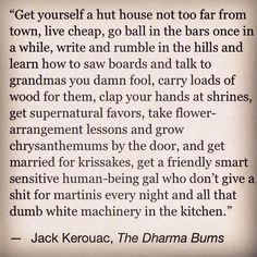 Jack Kerouac   The Dharma Bums