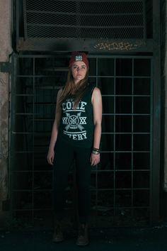 """Overcome Everyone"" Screen printing on black custom vest. Screen Printing, Vest, Prints, Clothing, T Shirt, Free, Black, Tops, Women"