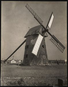 Commonwealth, Nantucket, Windmill, 1930s, Holland, Survival, Traveling, Old Things