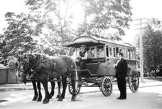 Greenfield Village's horse drawn carriages are a life saver - why walk through 96 acres the day of your wedding when you can ride in style