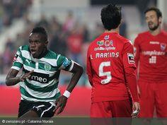 Jogo sofrido do Sporting em Barcelos, na vitória frente ao Gil Vicente, por 3-2. O jovem guineense Bruma foi o herói do encontro.