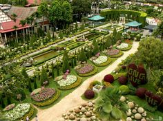 Famous Gardens of the World -Suan-Nong-Nooch - Thailand