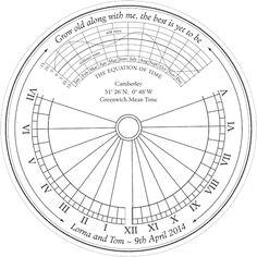 sundial design
