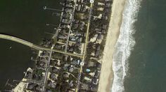 Sandy: Before and After Aerial Images