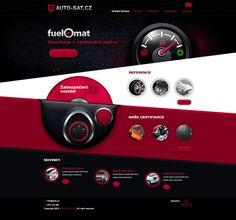 AUTO SAT by ~skorky #webdesign #trends
