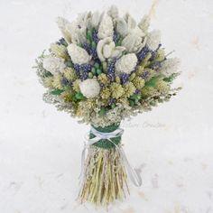 свадебный букет из сухоцветов - Поиск в Google