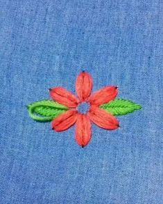 Hand Embroidery Videos, Embroidery Stitches Tutorial, Embroidery Flowers Pattern, Learn Embroidery, Hand Embroidery Designs, Embroidery Techniques, Embroidery Ideas, Embroidery Supplies, Beginner Embroidery