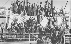 Feb 17, 1940: 158 American volunteers, having departed from NY Harbor, arrived in Finland.