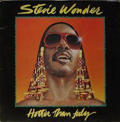Stevie Wonder: Hotter Than July 1980 (c) Tamla Motown