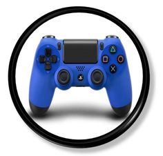 Blue X Box Video Game Controller Knobs | Pulls - No. 317A10