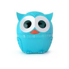 Kikkerland Owlet Kitchen Timer, Assorted Colors by Kikkerland. $6.56. Timer goes up to 60 minutes. Steel mechanism with plastic exterior. Measures 2.5 x 4.25 x 2.5-inch. Adorable wide eyed owl kitchen timer doubles as counter top décor. Assorted red, yellow and light blue colors (color is random and chosen at the time of shipping). Adorable wide eyed owlet kitchen timer will keep watch and time your food so it turns out just right. Turn the head of the owlet to set the t...