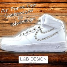 Nike air force one studded edition by labdesign