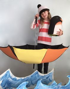Oliver Jeffers' Lost and Found cover costume for Book Week