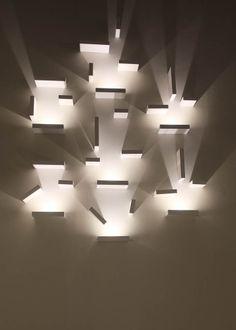 Vibia   Contemporary wall light installation   From 2014 Frankfurt Light &…