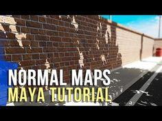 Maya Normal Map Tutorial:  3D Texturing