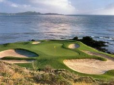 7th @ Pebble. Greatest Hole in Golf #ATGStoresGiveaway