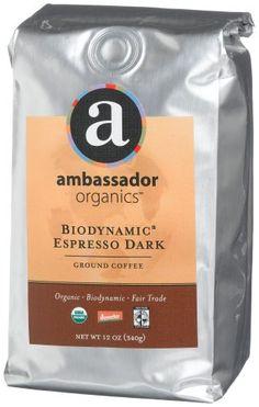 Ambassador Organics Biodynamic Espresso Dark « Lolly Mahoney