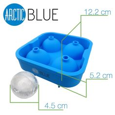 """Amazon.com: BEST Ice Mold Tray -5 Star Rated- Lifetime Guarantee- Makes Cool 2"""" Ice Balls - Food Grade Silicone: Kitchen & Dining Ice Molds, Food Grade, Wood Pallets, Wood Projects, Kitchen Dining, Balls, Tray, Cool Stuff, Amazon"""