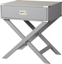 Discover the different types of end tables you can buy for your living room, family room, rec room or anywhere you have an arm chair, sofa or other lounge seating. Wood Construction, Room Organization, All Modern, End Tables, Bedside Tables, Bedroom Furniture, Furniture Decor, Outdoor Furniture, Storage Spaces