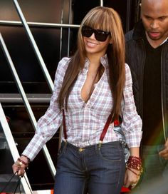"Beyonce makes me want to ""Countdown"" the days until I can wear my suspenders during SIBTEMBER!"