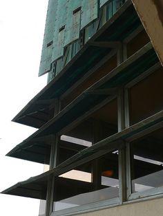 Price Tower.1952. Bartlesville, Oklahoma. Frank Lloyd Wright