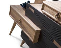 FLUX collection Designed by Çağtay Döner. on Behance Bedroom Door Design, Wardrobe Design Bedroom, Bedroom Furniture Design, Modern Furniture, Office Wall Design, Study Room Design, Lcd Unit Design, House Ceiling Design, Beige Living Rooms