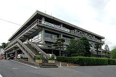 建築マップ 鳥取県 倉吉市庁舎