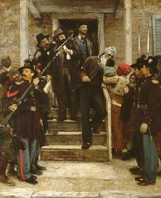 The Last Moments of John Brown by Thomas Hovenden (1882-1884) Metropolitan Museum of Art
