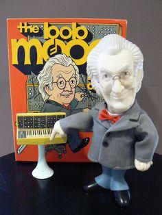 The Bob Moog Doll - Anniversary Vinyl Figure In Original Box Moog Synthesizer, Doctor Robert, Active Listening, Electronic Music, 50th Anniversary, Vinyl Figures, Tattoo Ideas, Bob, Dolls