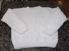 Encomenda de suéter infantil para idade de 6/8 anos. Seguiu para Bauru/SP  Ficou super delicado o trabalho mas a foto não ajuda em nada.