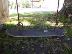 Make a Standing Skateboard Swing