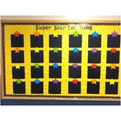 Awesome bulletin board idea to display student work