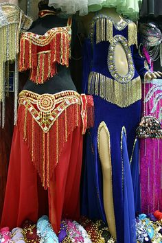 Belly Dancer Costumes, Grand Bazaar, Istanbul, Turkey