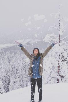 The exuberant, joyous feel of winter.  Exhilarating!