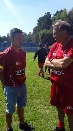 Jaime Alas y Enzo Trossero / enero 2015