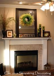 mantel decorating ideas for everyday - Google Search