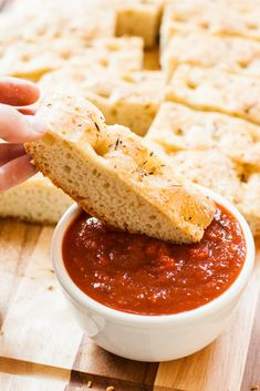 Quick & Easy Parmesan Foccacia | My California Roots