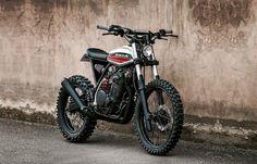 Honda XR600R Scrambler - Dimitri Chaussinand #motorcycles #scrambler #motos | caferacerpasion.com